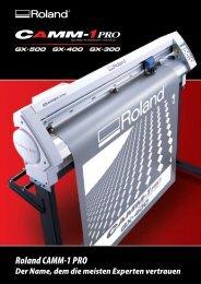 Roland CAMM-1 PRO - Holler