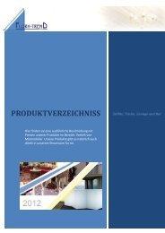PRODUKTVERZEICHNISS - Flora - Trend GmbH