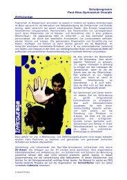 Schulprogramm Paul- Klee- Gymnasium Overath Zivilcourage
