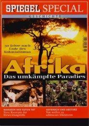 Afrika - Das umkämpfte Paradies - ein Spiegel-Special aus