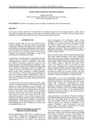 CIPA International Symposium, Olinda, Brasil, 3. -  fokus GmbH Leipzig