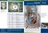 Evaluation of Historical Photographs - fokus GmbH Leipzig