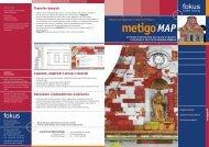 Broszura metigo MAP - fokus GmbH Leipzig