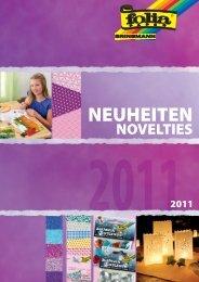 neuheiten / novelties 2011 - Folia Bringmann