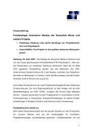 PM Vertriebsstart Real Estate 5 Activ Select - Fondshaus Hamburg