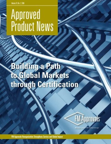 Approved Product News - December 2008 Issue - FM Global