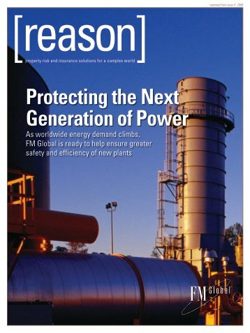 Protecting the Next Generation of Power - FM Global