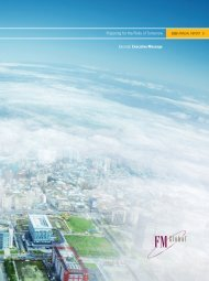 2008 FM Global Annual Report: Executive Message