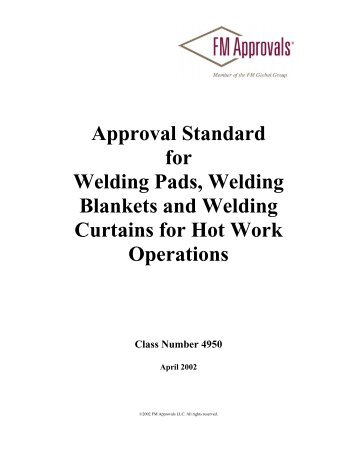 Approval Standard 1612 - FM Global
