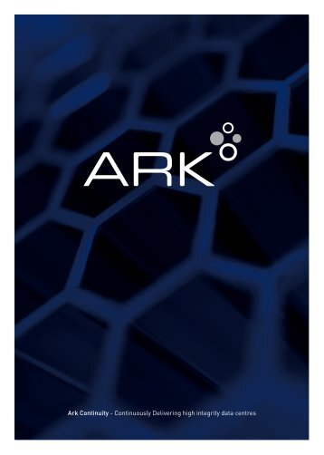 Corporate Brochure [PDF] - Ark Continuity