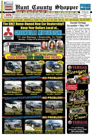 May 9, 2012 - Hunt County Shopper