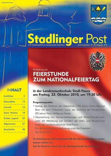 Stadl-traun singlespeed Leitendorf dating