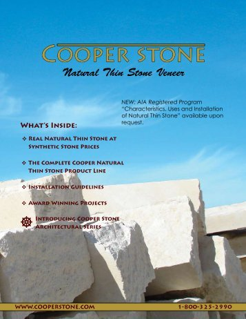 Download PDF Cooper Stone