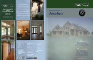 AVALON new custom home community - Battlefield Homes