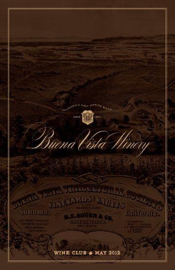 "wine club "" may 2012 - Buena Vista Winery"
