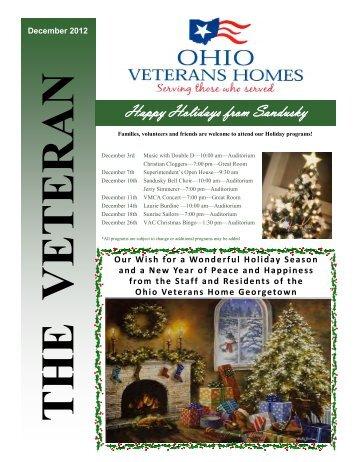 Happy Holidays from Sandusky - Ohio Department of Veterans ...