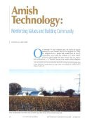 Amish Technology - Consortium For Science, Policy & Outcomes - Page 2