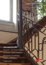 Jahresbericht 2007 Stickerei - ein neues Kapitel Die ... - ALOCO Bern