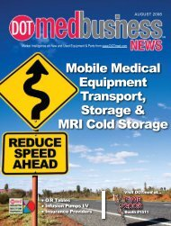 Mobile Medical Equipment Transport, Storage & MRI ... - DOTmed.com