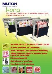 Mutoh Kona - F. Huhn & Sohn GmbH