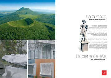 Lava stone La pierre de lave - Signs and Lava