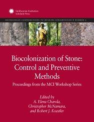 Biocolonization of Stone: Control and Preventive Methods ...