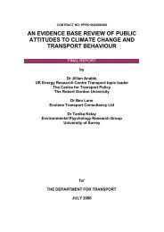An Evidence Base Review of Public Attitudes to Climate Change ...