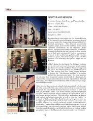 vsba seattle art museum - Robert Venturi and Denise Scott Brown