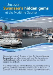 The Swansea Maritime Quarter - National Museum Wales
