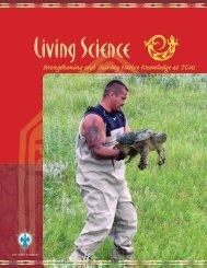 Living Science report - American Indian Higher Education Consortium