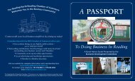 A Passport To Doing Business in Reading - Town of Reading