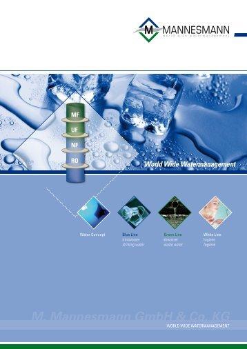 World Wide Watermanagement - M. Mannesmann GmbH & Co. KG