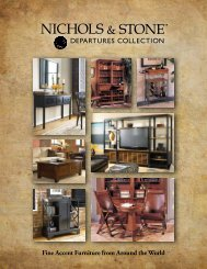 DEPARTURES COLLECTION - Stickley