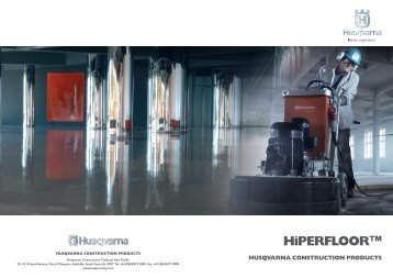HiPERFLOOR™ - Honed and Polished Concrete