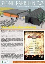 New Pavilion plans underway - Stone Parish Council