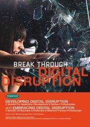 Developing Digital Disruption and embracing Digital ... - Forrester