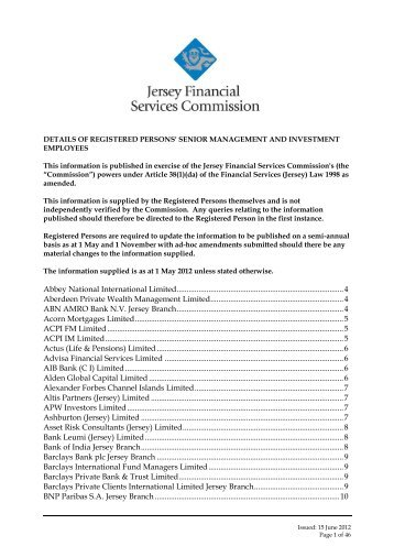 Abacus Financial Consulting Limited - the Jersey Financial Services ...
