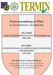 TERMIN - Verband Reisender Kaufleute Österreich