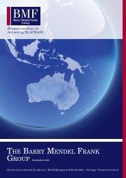 download our brochure - Barry Mendel Frank Group