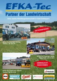 Eine starke Händlergemeinschaft in Süd-Ostbayern ... - EFKA