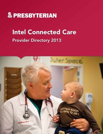 Intel Connected Care - Presbyterian Healthcare Services