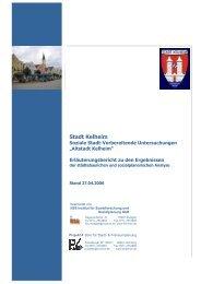 1 Geschichtliche Entwicklung - Stadt Kelheim