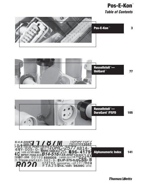 PB348 NEW IN BOX THOMAS /& BETTS PB348