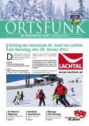 Ortsfunk-Jänner-2011 - St. Josef