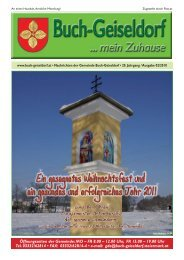 2010_Zeitung Dez - Gemeinde Buch-Geiseldorf