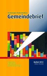 (PDF) GB2012-10_11-Herbst - Ev.-Luth. Kirchengemeinden ...