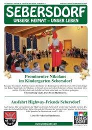 Gemeindezeitung Dezember 2012 - Gemeinde Sebersdorf