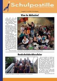 Viva la Abiluciòn! Realschulabschlussfeier - DiSDH