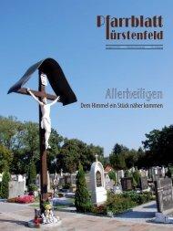 Allerheiligen - Pfarre Fürstenfeld - Katholische Kirche Steiermark