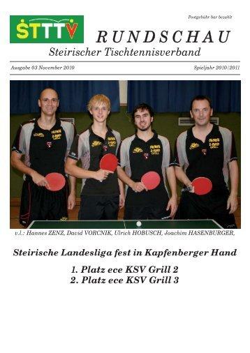 25,00 Holz BUTTERFLY - Steirischer Tischtennisverband
